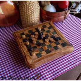 multi game olive wood