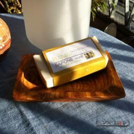 Soap dish olive wood soap dish wood tray bowl + nature - soap