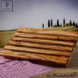 Brotschneidebrett mit Krümelfach