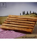 olive wood cutting board for bread