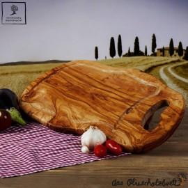 Tranchierbrett Holz mit Henkel