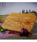 Large cutting board out of olive wood