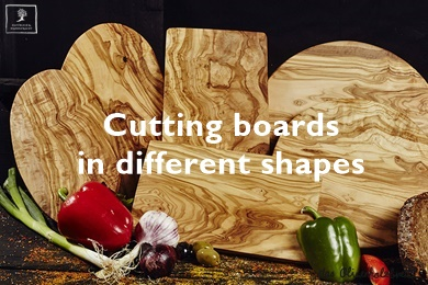 cutting boards in different shapes